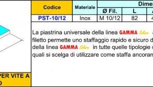 7-Piastrina Universale PST-10/12